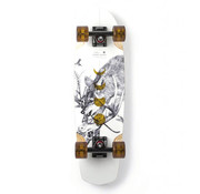 Arbor Bamboo Pocket Rocket Cruise Skateboard White