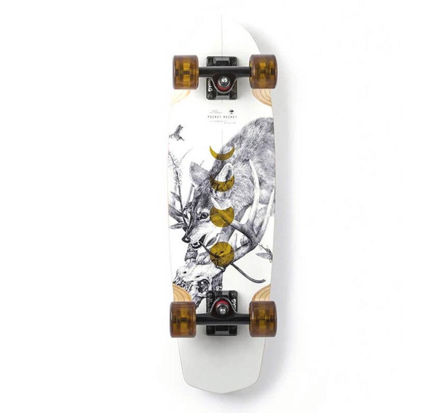 Bamboo Pocket Rocket Cruise Skateboard Complete