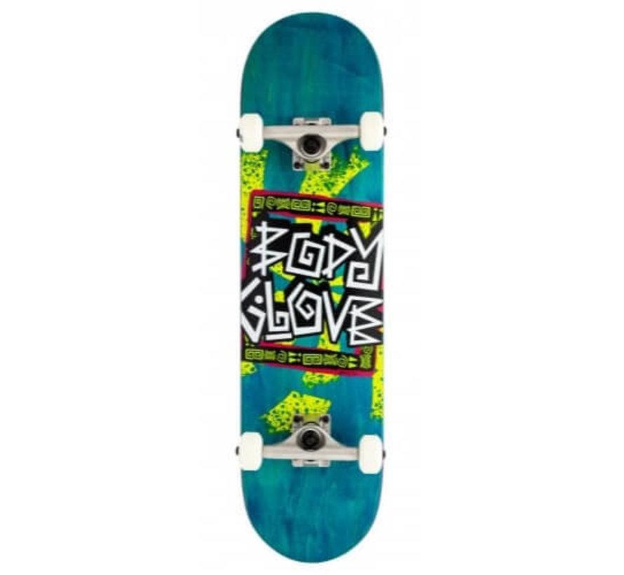 Kindred Blue Skateboard Complete
