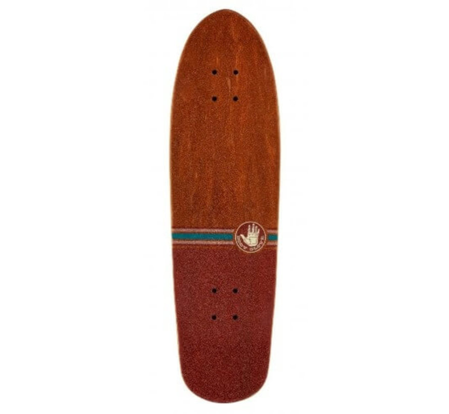 Cruiser Vintage Brown Skateboard Complete