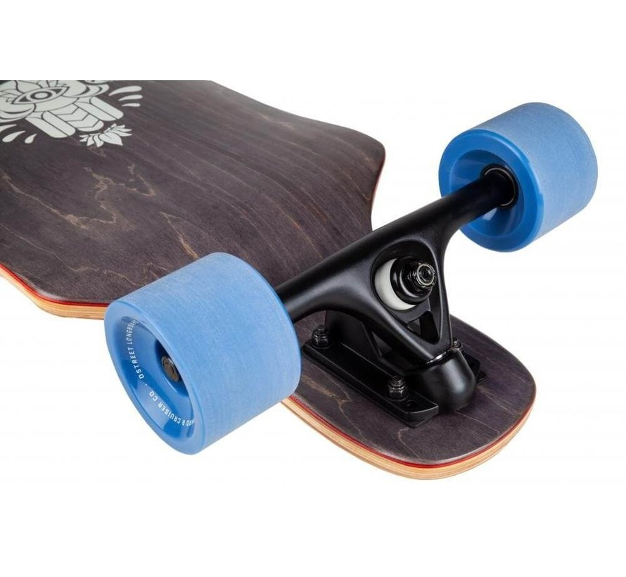 Drop Down Tripout Grey Longboard Complete