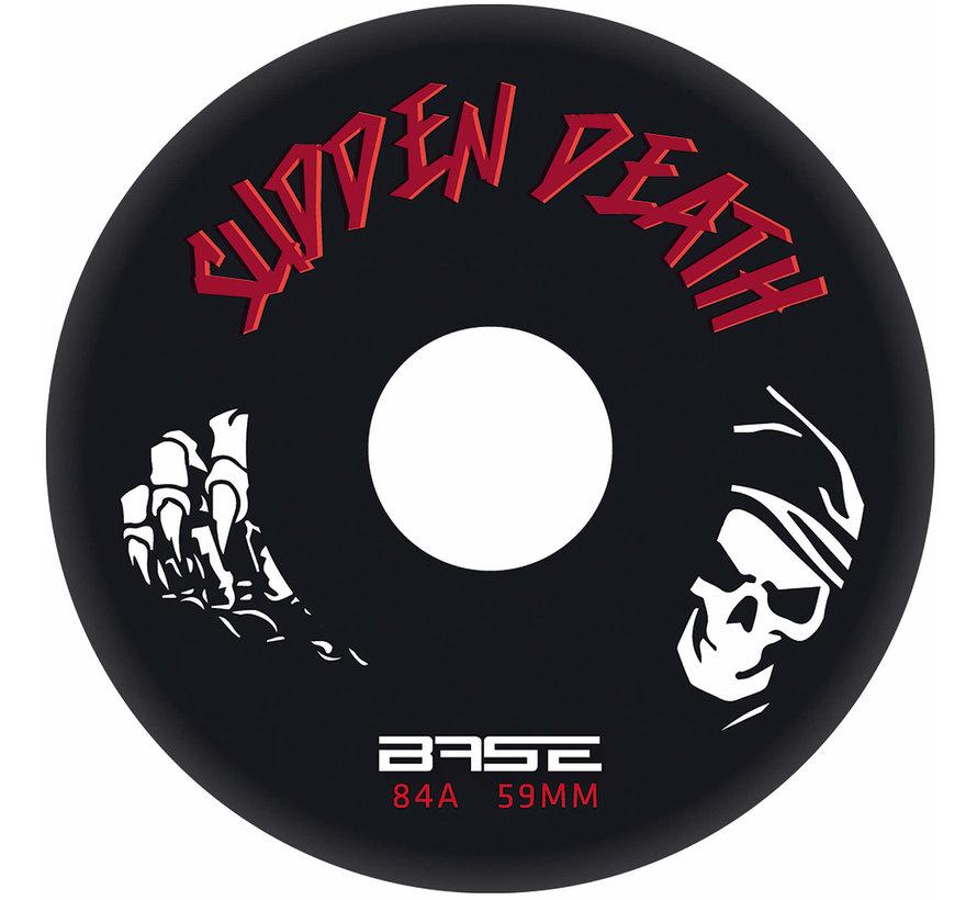 Sudden Death 76mm Inline Skate Wheels 4-pack