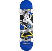 Birdhouse Stage 1 Oversized Skull Mini Skateboard