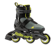 Rollerblade Microblade Free 3WD Kids Skates Anthracite/Lime