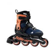 Rollerblade Microblade Kinder Skates Midnight Blue/Warm Orange