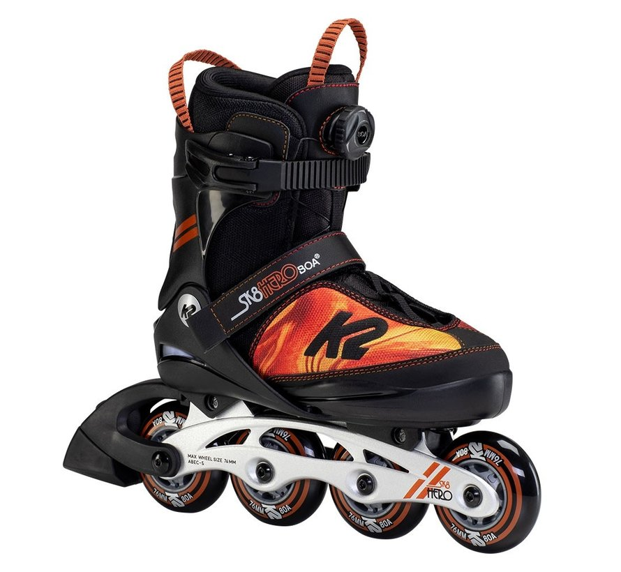 Sk8 Hero BOA Alu Adjustable Kids Skates Boys 2021
