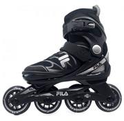 Fila J-One Verstelbare Kinder Skates Zwart