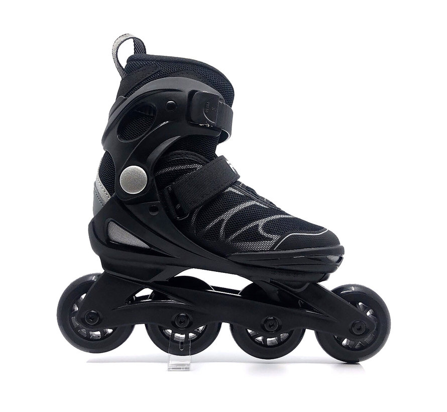 J-One Verstelbare Kinder Skates Zwart