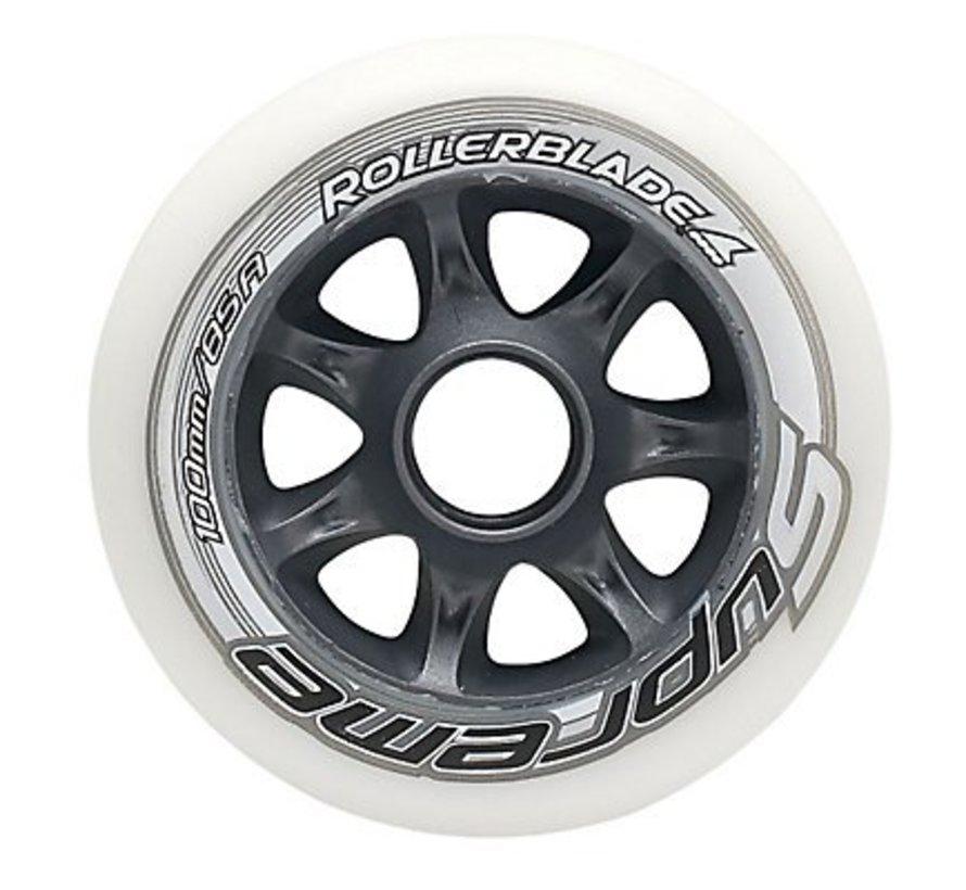 Supreme 90mm Inline Skate Wheels 8-pack