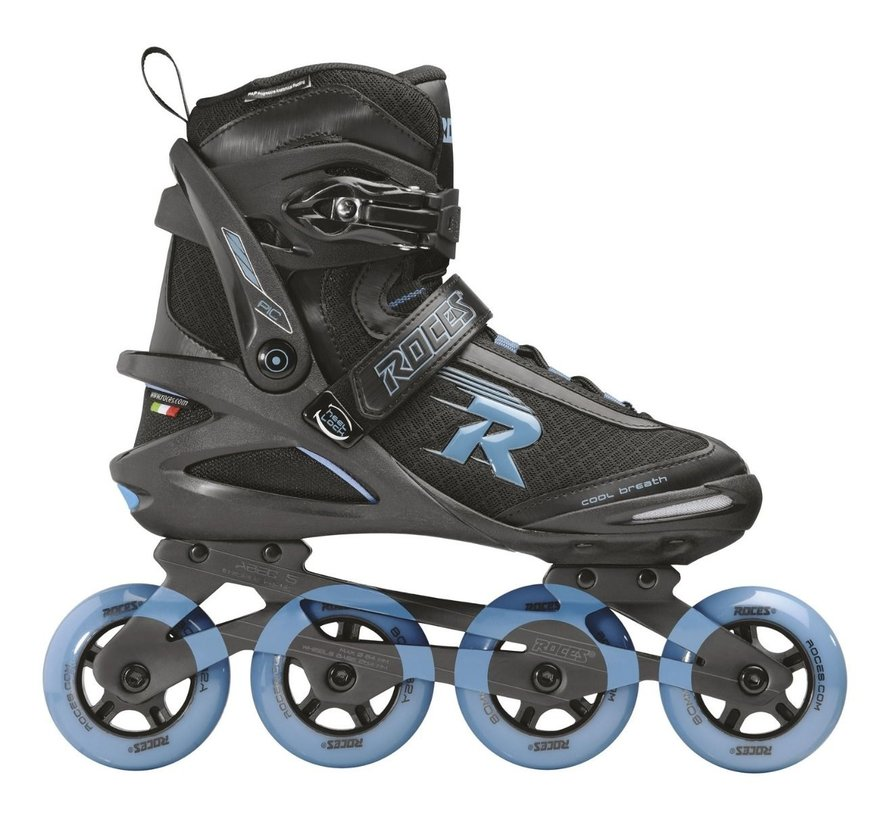 Pic Tif Inline Skates Zwart/Blauw