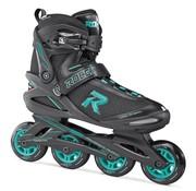Roces Icon W Dames Skates Zwart/Aqua