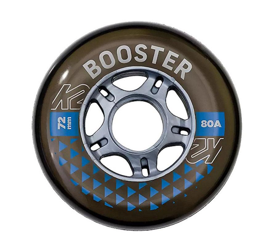 Booster 76mm Inline Skate Wielen 8-Pack