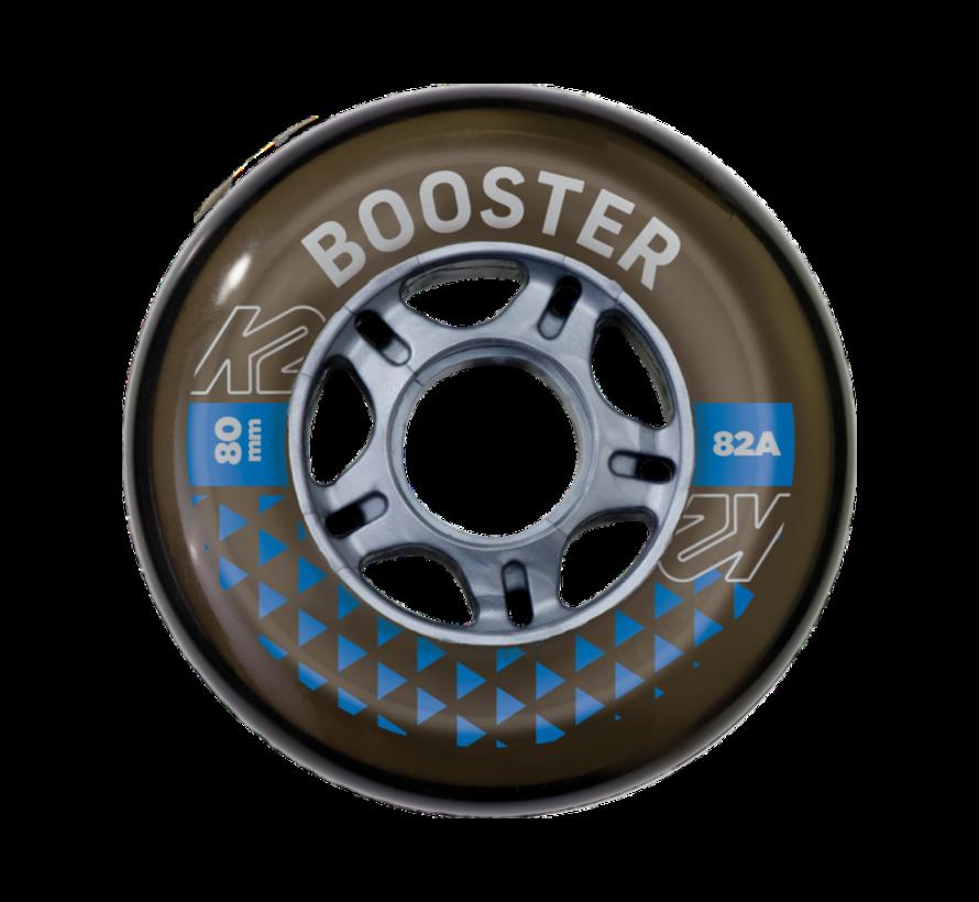 Booster 80mm Inline Skate Wielen 8-Pack