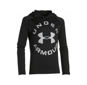 Under Armour HeatGear Tech Hoody Junior zwart