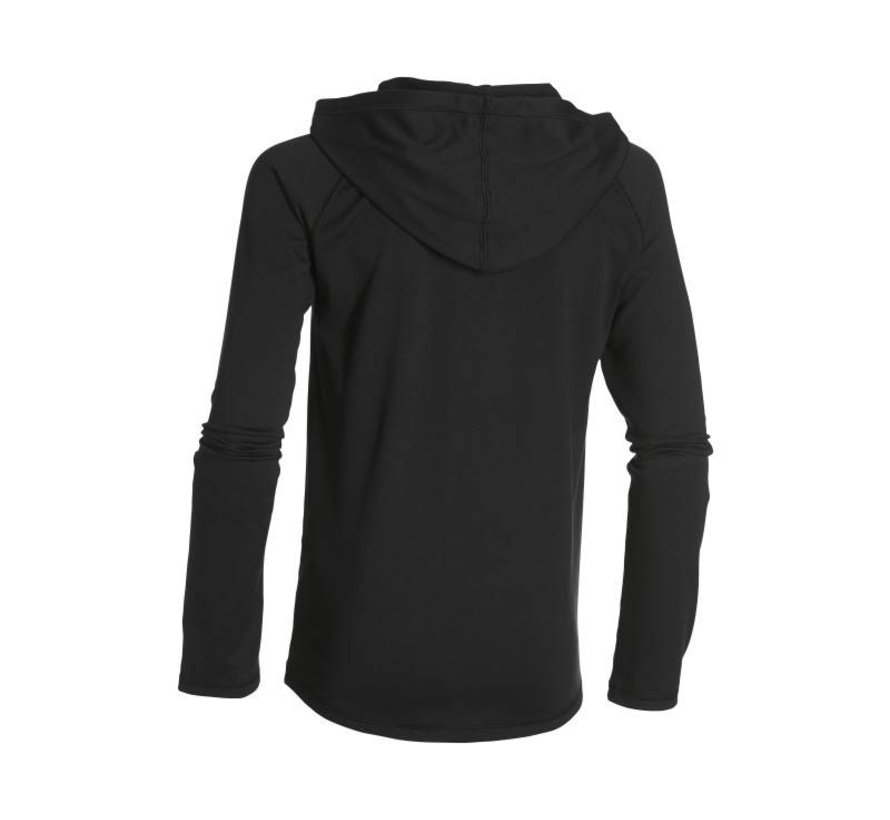 HeatGear Tech Hoody Junior zwart