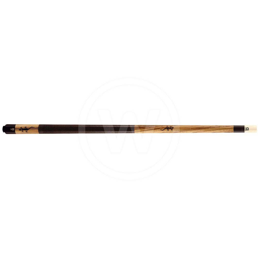McDermott McDermott M54A Zebrawood/inlay pool (Gewicht: 19Oz)