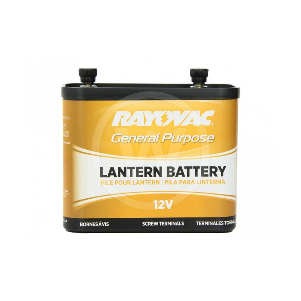 Rayovac lantaarnbatterij 12 volt