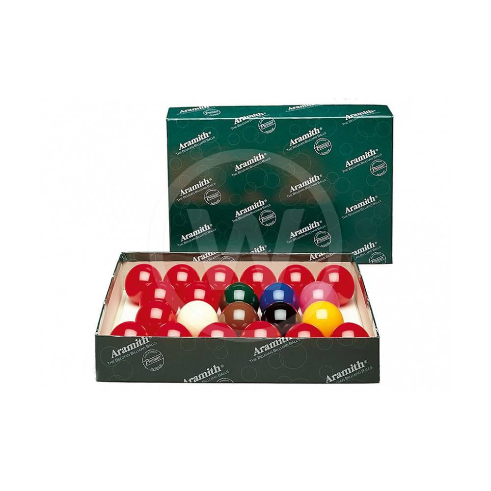 Aramith Aramith snooker ballen (52,4 mm)