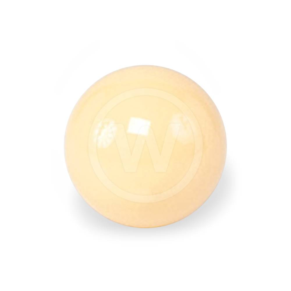 Bal wit (magneetbal wit - 57,2 mm ECONOMY)