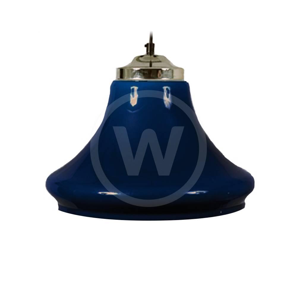Lamp klokmodel (transparant blauw)
