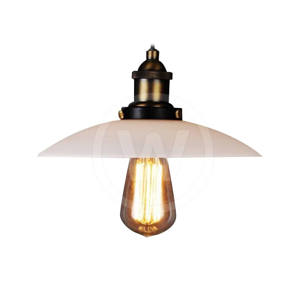 Lamp navy #1 32 cm (mat zwart/koper)