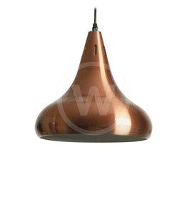 Lamp klassiek rood-koper (mat)