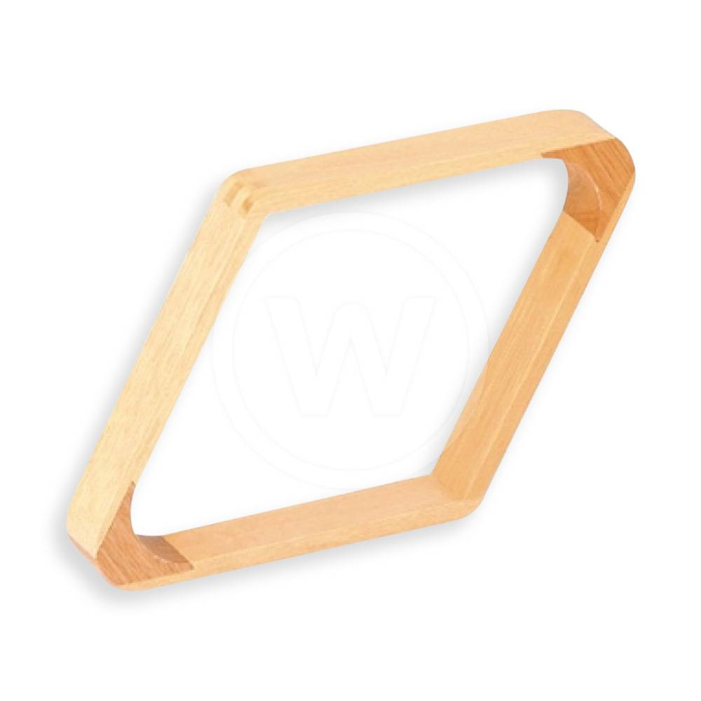 Triangle hout 9-ball  (naturel hout)