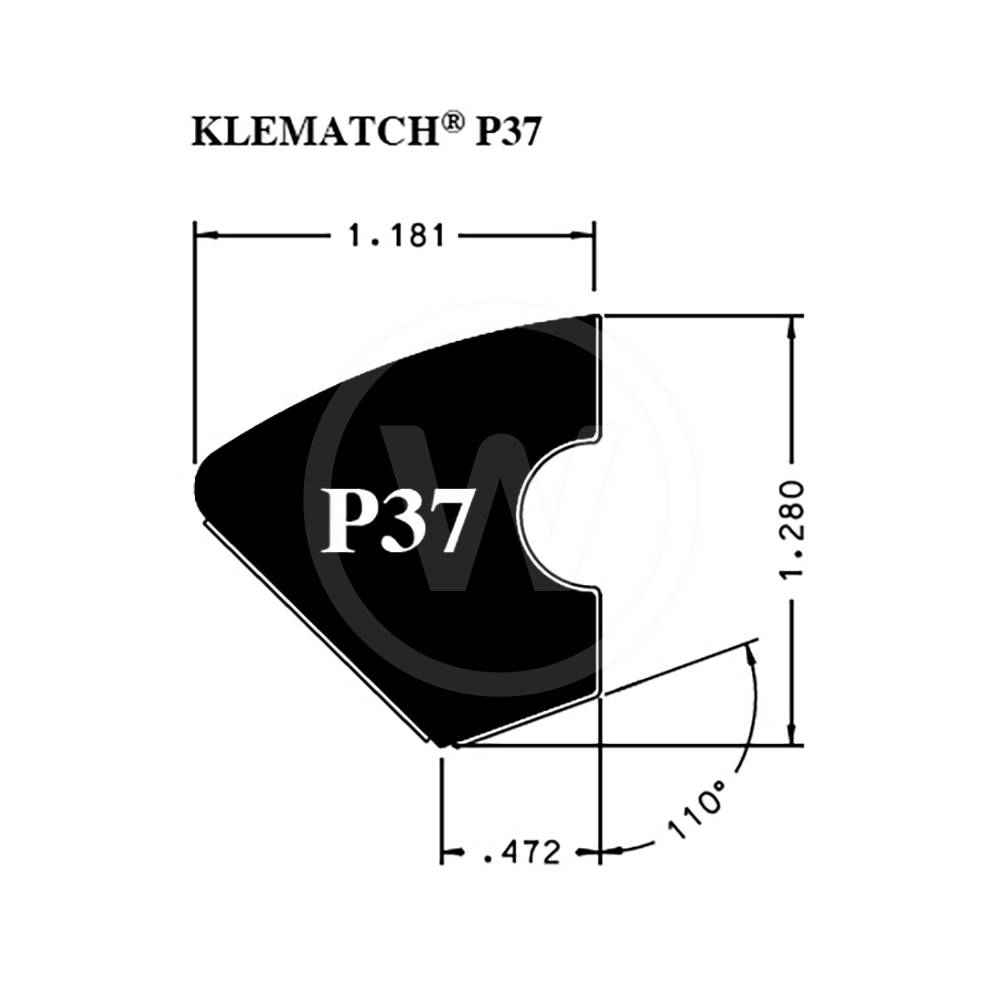 Rubberband Kleber Klematch P37 (2,30 meter)