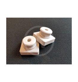 Isolator porselein M5 (25x25x17 mm)
