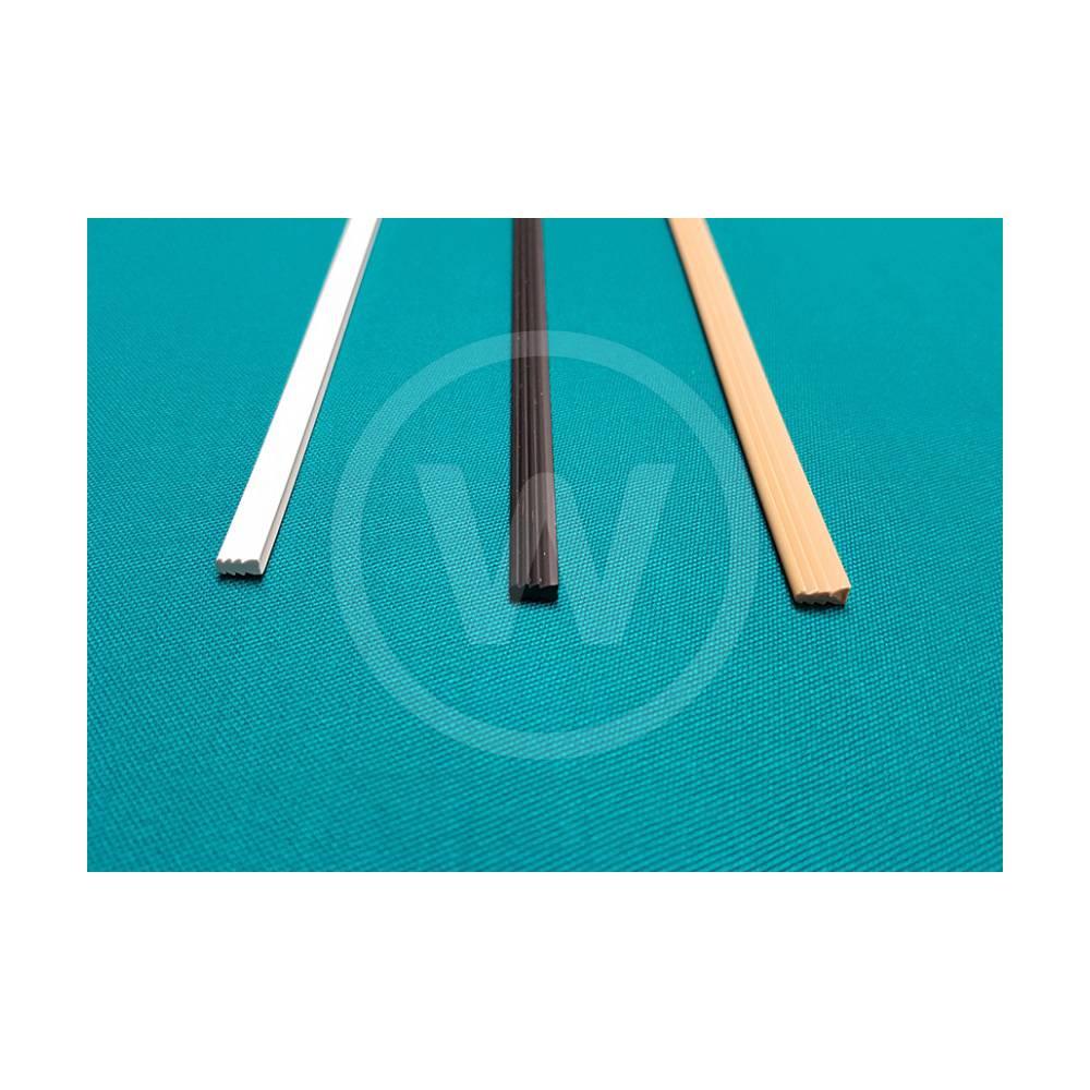 Intik latjes voor profielhout (2,70 mm - wit)
