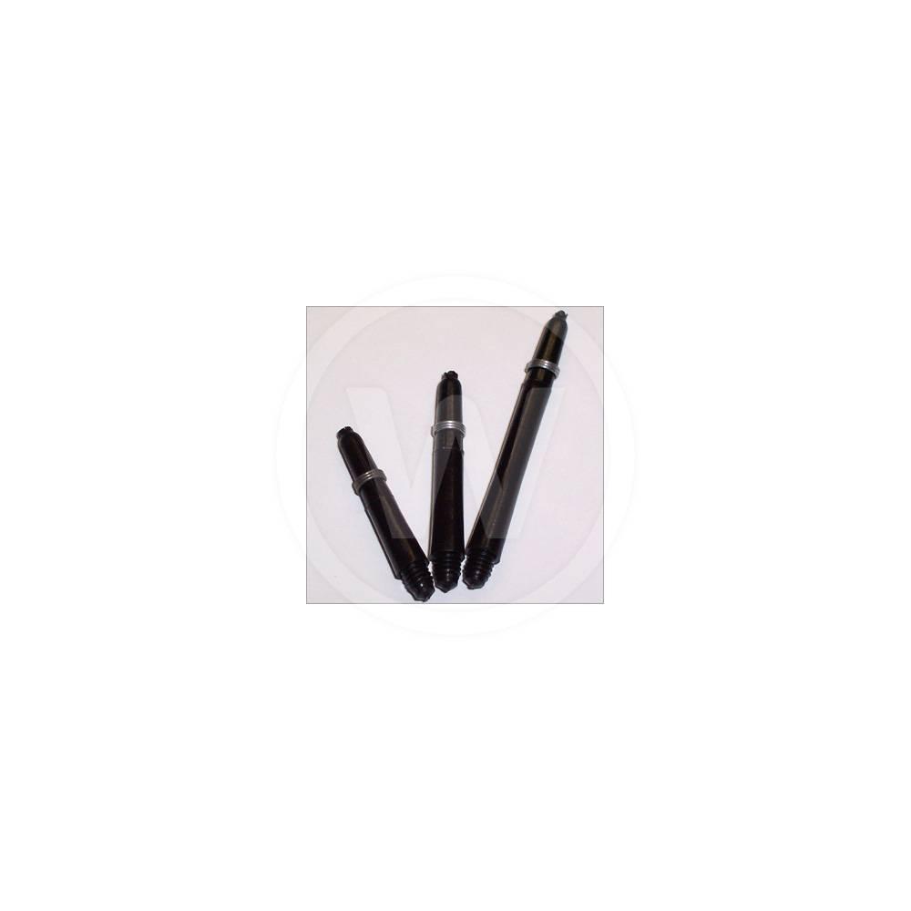 Nylon plus shaft Zwart (Uitvoering: EXSH)