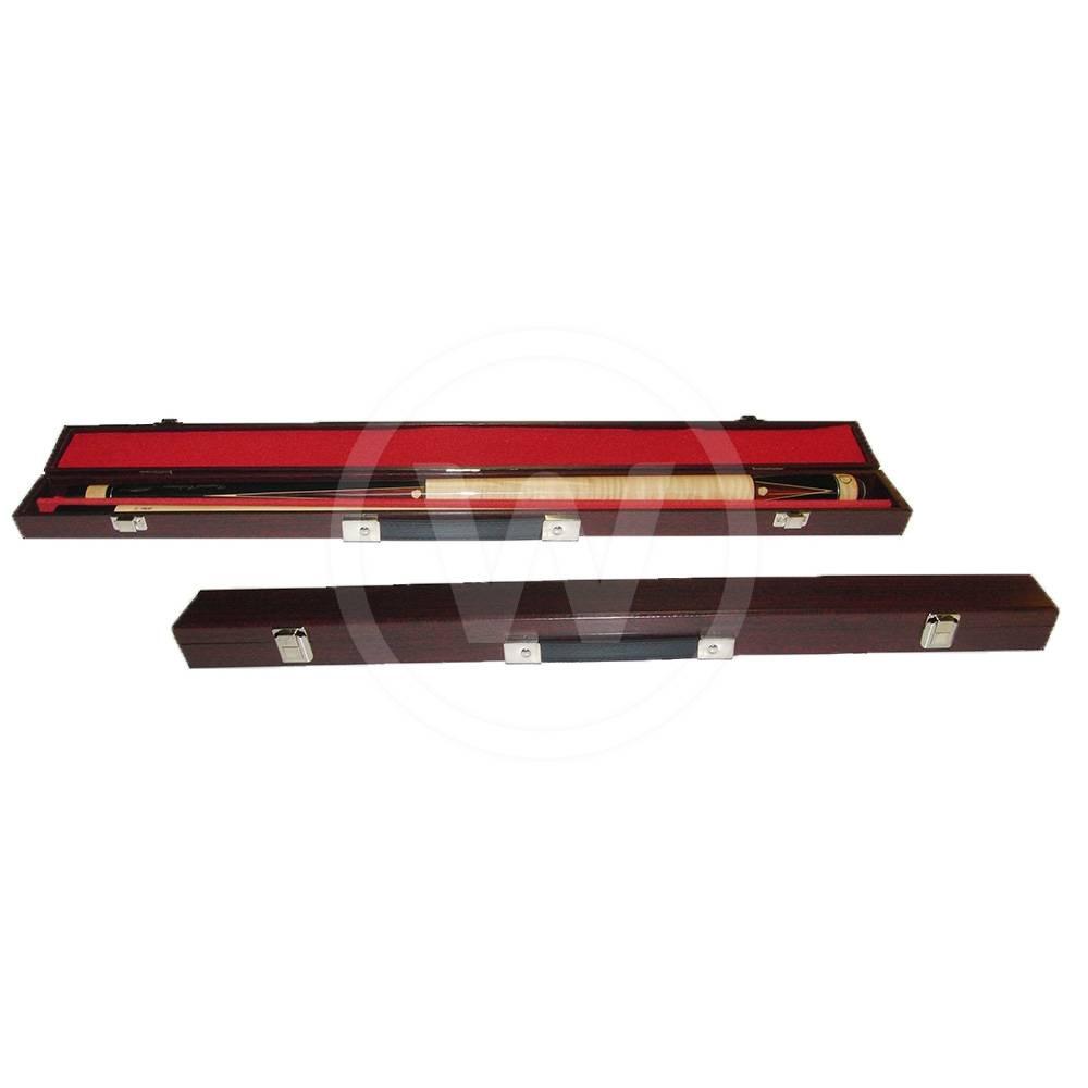Koffer 2 Vakken Standaard 1B1S roodbruin