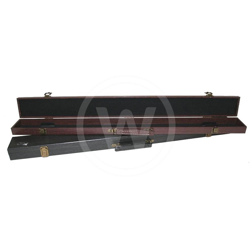 Q.KS Koffer 3 Vakken 1B2S (Kleur: Rood Bruin)