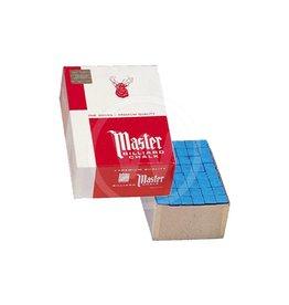 Master gros doos 144 krijtjes (blauw)