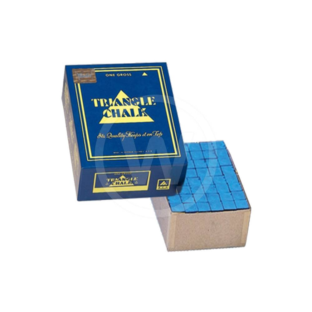 Triangle gros doos 144 krijtjes (blauw)
