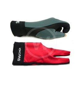 Handschoen CHOI Professional - kleur: grijs/zwart (Hand: Links)