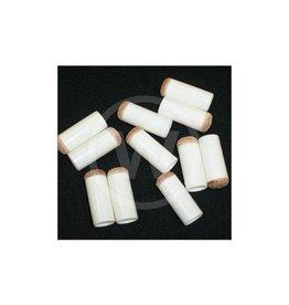 Schuifpomerans wit economy (13 mm) - 10 stuks