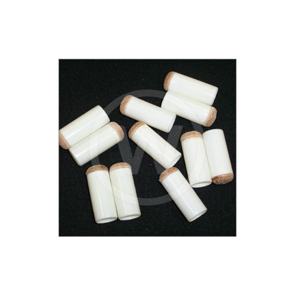 Schuifpomerans wit economy (11,5 mm) - 10 stuks