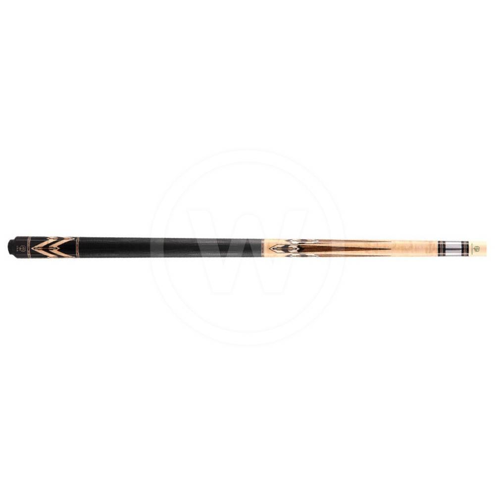 McDermott McDermott CRM902 Black urethane/inlay carom (Gewicht: 520 gram)