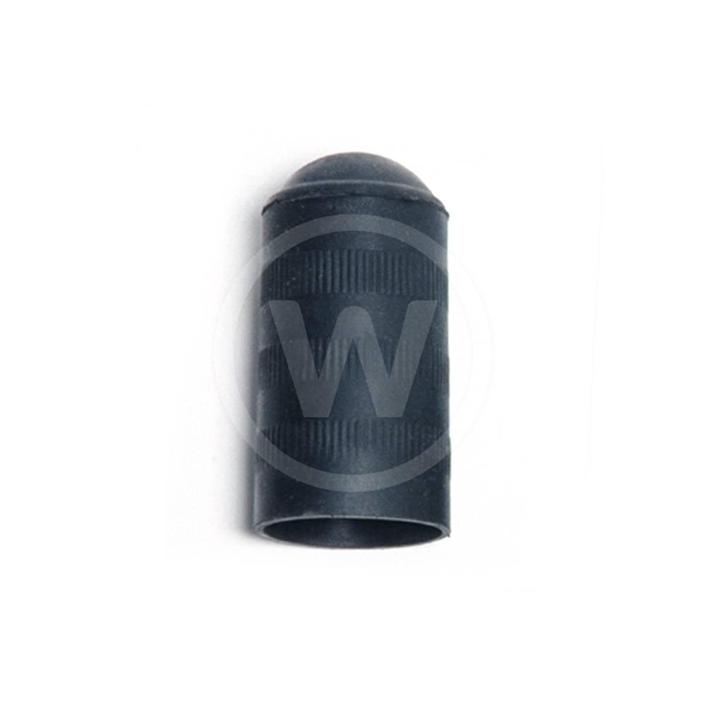 Schuifdop lang, rubber (28 mm)