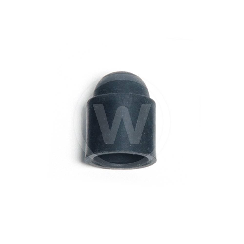Schuifdop rubber, model kort