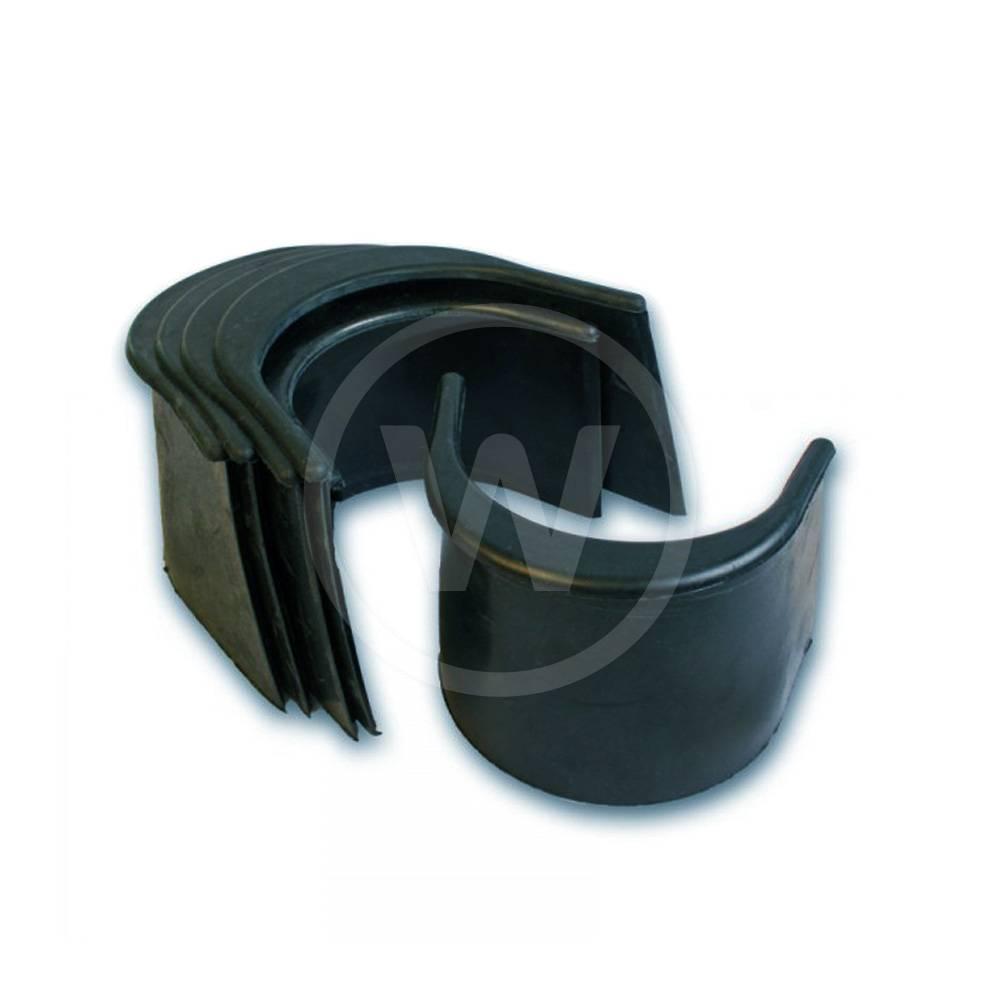 "Pocket liner - 3"" zwart (6 stuks)"