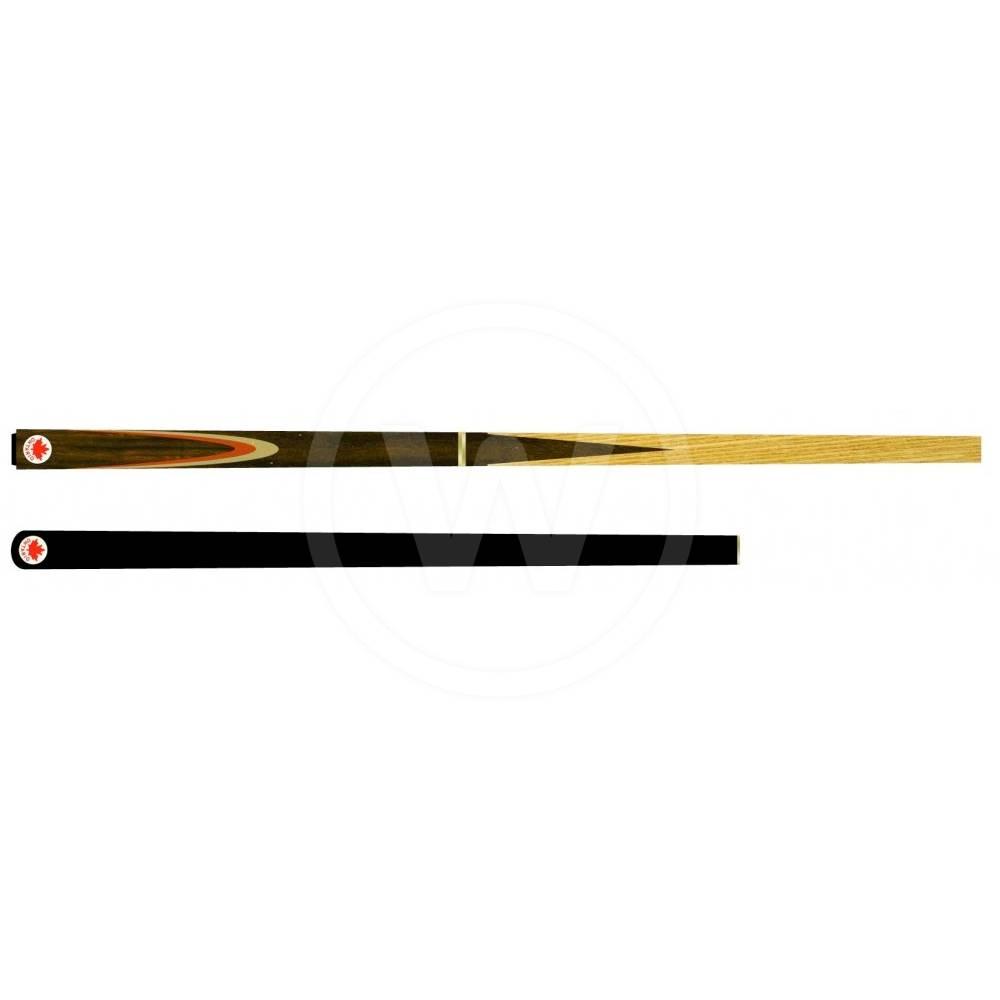 Molinari Ontario Snookerkeu 3/4 rosewood 4 p met extension (Gewicht: 17 ounce)