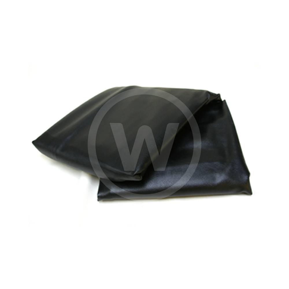 Afdekzeil, dik met rug (Zwart) - 230 biljart