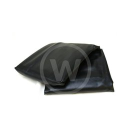 Afdekzeil, dik met rug (Zwart) - 285 biljart