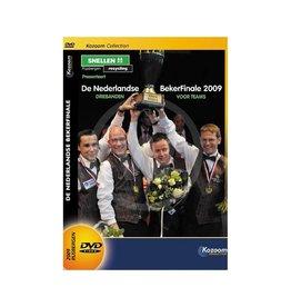 Dick Jaspers DVD Bekerfinale NL 2009, 3-banden teams