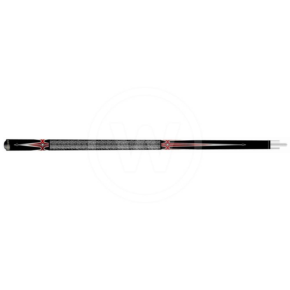 Artemis Artemis pool keu model 3. Zwart - rood/wit