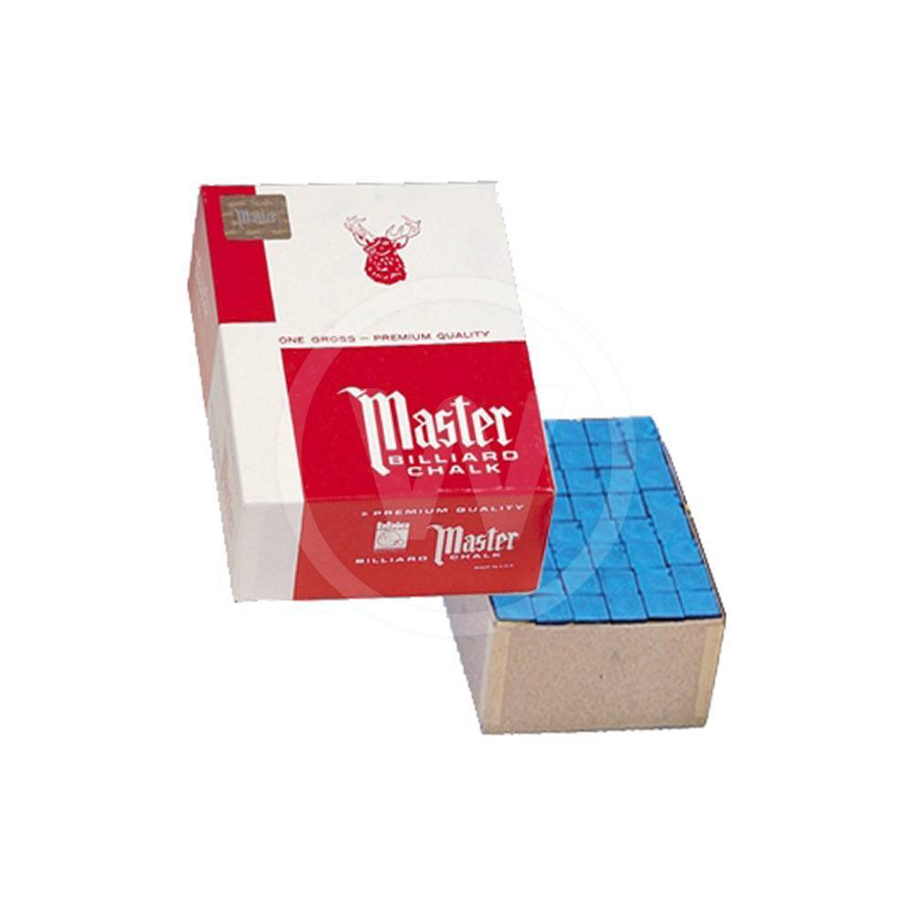 Master gros doos 144 krijtjes (Prestige/Tournament blue)