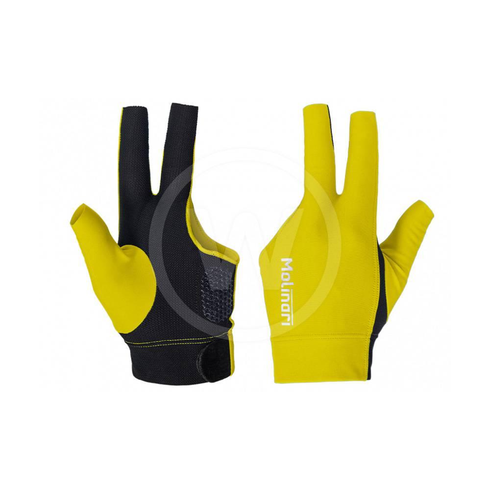 Molinari Handschoen Molinari geel/zwart (Hand: Links)
