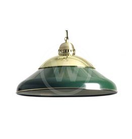 Lamp solo -Messing donker groen 45cm (Groen - Pantone 357C)